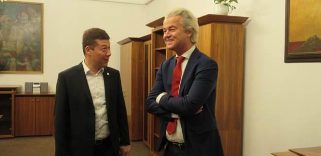 Geert Wilders pro PL: Češi, jste pro nás vzorem v odporu proti EU a islamizaci. Bráníte Evropu proti invazi. Západ je téměř ztracen. Česká republika potřebuje Okamuru