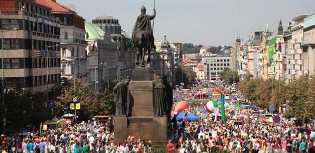 František Matějka: Multikulturalismus s fatálními důsledky. Pride Prague 2012