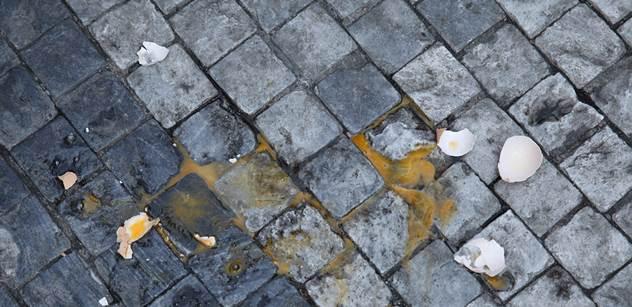 Žalobkyně podala stížnost v kauze házení vajec na Zemana
