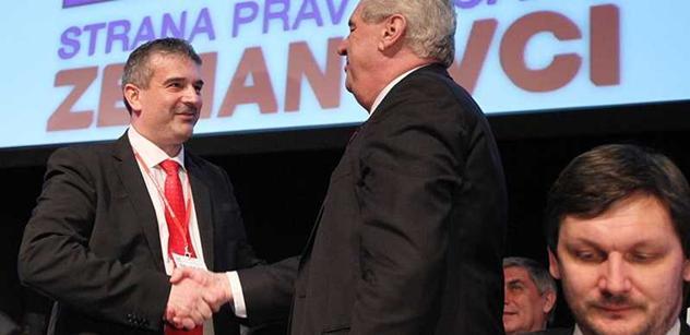 Ve vládě nebudou členové SPOZ, zdůrazňuje místopředseda strany