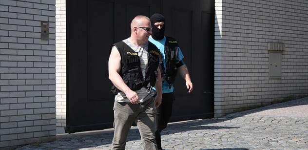 Policie má proti Rittigovi odposlechy. Zda skončí ve vazbě, se uvidí v sobotu