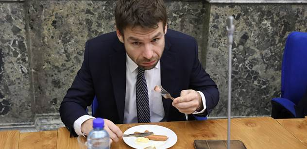 Nebude mi diktovat fašistická strana, odmítl Pelikán spolupráci s SPD. Pak promluvil o tom, jak jsou zde diskriminováni Romové