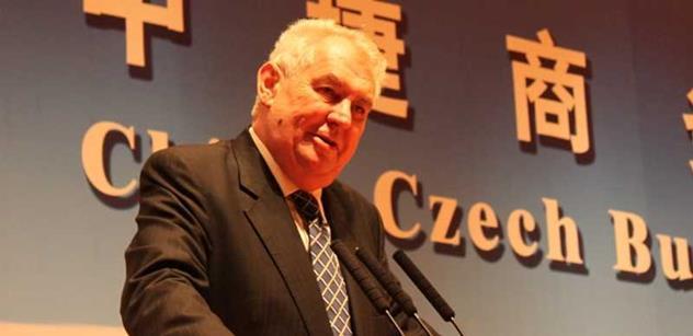 STAN: Zeman zpochybnil snahu o demokratický vývoj země