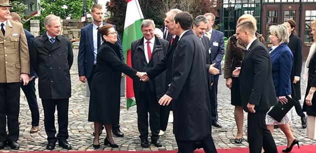 Zeman si prohlédne maďarskou jadernou elektrárnu Paks