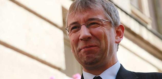 Ministr Jaromír Drábek odchází
