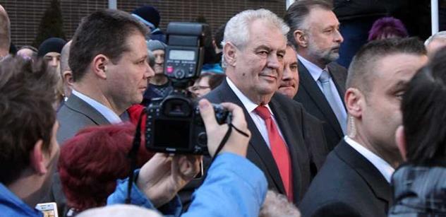 Prezident Zeman přeruší návštěvu jihu Čech kvůli hlasování o důvěře vládě