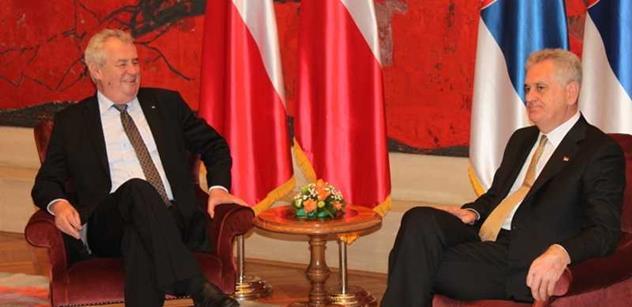 Zeman pro srbské noviny: Toto bylo jedno z nejtěžších politických rozhodnutí v mé kariéře…
