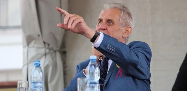 Propast mezi prezidentem Zemanem a zástupci vysokých škol skutečně existuje, rozpovídal se v ČT rektor Zima