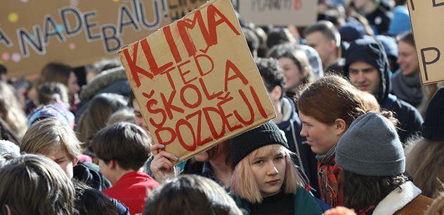 Studenti v září upřesní své požadavky pro ochranu klimatu