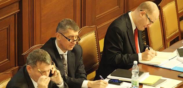Andrej Babiš odhalil, co může ohrozit vládní koalici