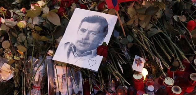 Devět z deseti Čechů hodnotí Havla jako dobrého prezidenta