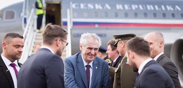 Zeman se na Slovensku sešel s Pellegrinim a ten ke kauze Skripal řekl: S ohledem na důkazy...
