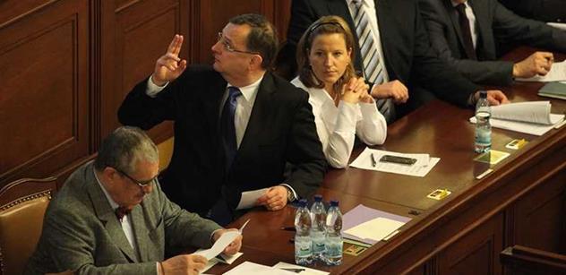 Ódéesáci z Liberecka vychvalují Nečasovu vládu. Byla prý nejlepší v historii