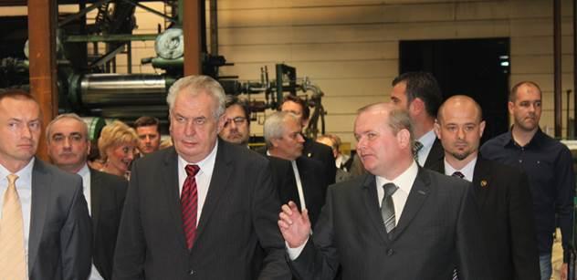 Zeman vydal na návštěvě Srbska velice ostré prohlášení o Kosovu. Podívejte se
