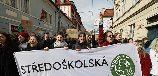 Švédská studentka prý odmítla protest s Grétou, chtěla se raději učit. Dopadla moc zle