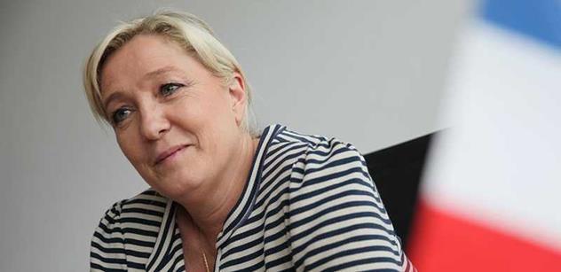 Marine Le Penová získala nečekaného příznivce. Není to vtip