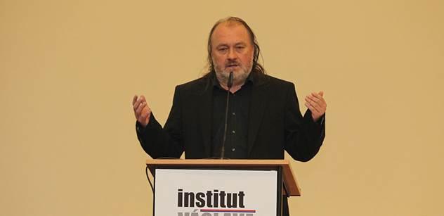 Klausův Jakl: Halík je upír a je naprosto nekvalifikovaný k rozhodování o demokracii či EU. EU je diktatura a musí být zničena. Bruselští vzteklouni se budou chtít mstít