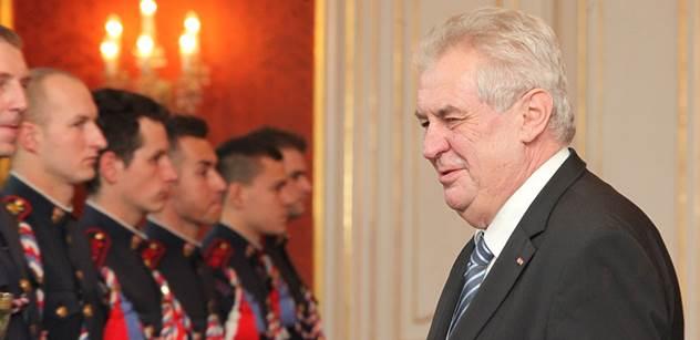 Prezident Miloš Zeman jmenuje 24 soudců obecných soudů