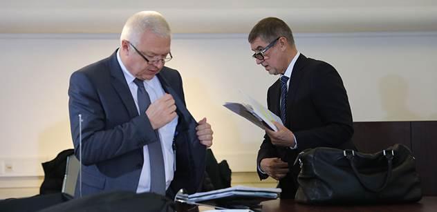 Imunitní výbor Sněmovny začal řešit i žádost o vydání Babiše