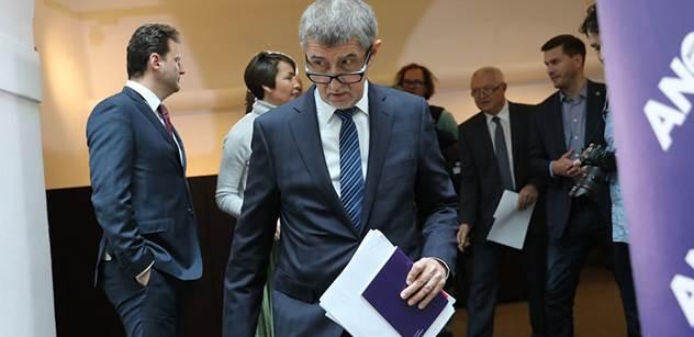 Zástupci ANO budou jednat s občanskými demokraty a lidovci