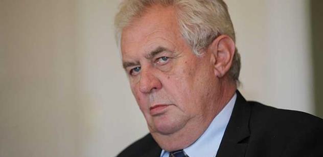 Miloš Zeman se vyjádřil k Tibetu i válce na Ukrajině. A ošklivě šťouchl do Moravce, Kocába i dalších