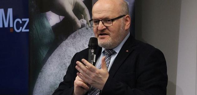 Herman (KDU-ČSL): S lítostí sleduji destrukci fungující organizace