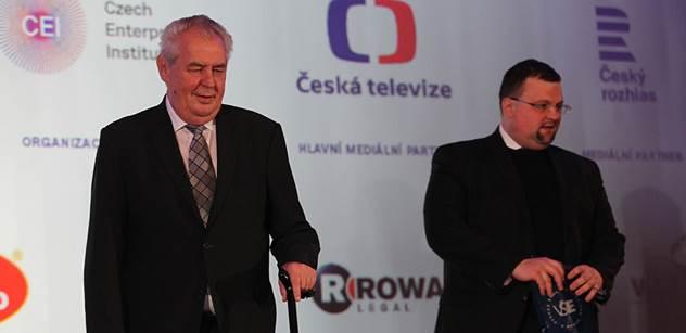 """Kauza """"odstranění Zemanova penisu"""" spustila salvu nadávek na ČT: Žumpa, zkaženost, trapnost, nenávist k prezidentovi, účtují politici. A hrozí veřejnoprávní TV následky"""