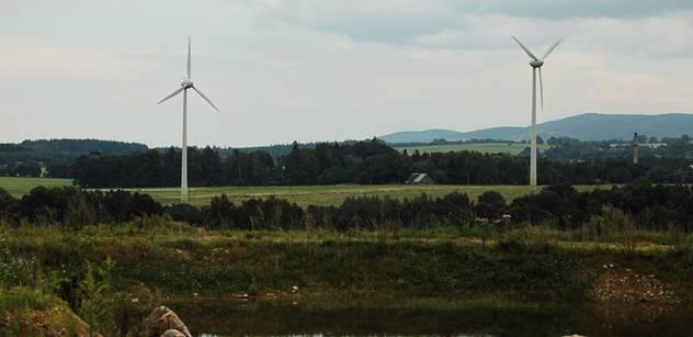 Evropský větrný boom končí