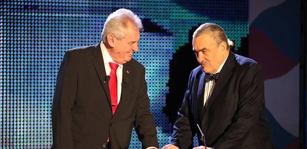 Nastupující prezident Zeman se dnes sejde se Schwarzenbergem