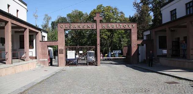 Na Olšanských hřbitovech se konal Britský Remembrance Day