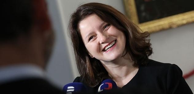 Ministryně Maláčová: Není možné, aby v roce 2019 lidé umírali na ulici