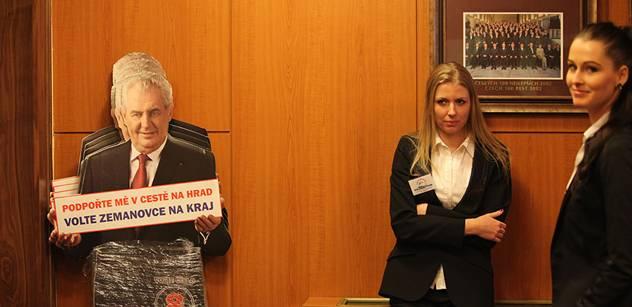 Zemanovci varují: Zabráníme tomu, aby se na prezidentovi přiživil póvl