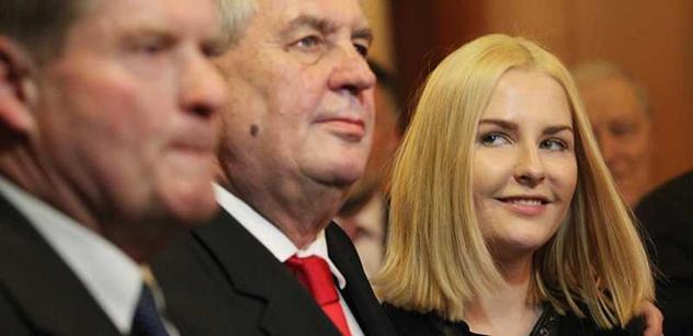 Kateřina Zemanová chce uspořádat soutěž krásy. Na Pražském hradě