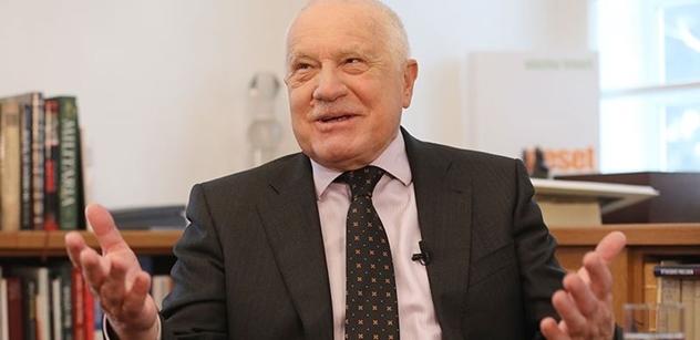 Václav Klaus pro PL: Legrační, že chce někdo krást Zaorálkovy maily a že Rusové ovlivnili volby. Škromach a Horáček na Hradě, to je ponížení úřadu