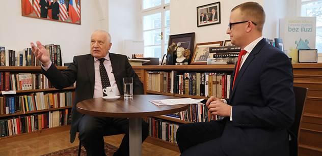 Václav Klaus udeřil na pražskou a všechny s ní spojené kavárny. Podívejte se na ochutnávku z rozhovoru