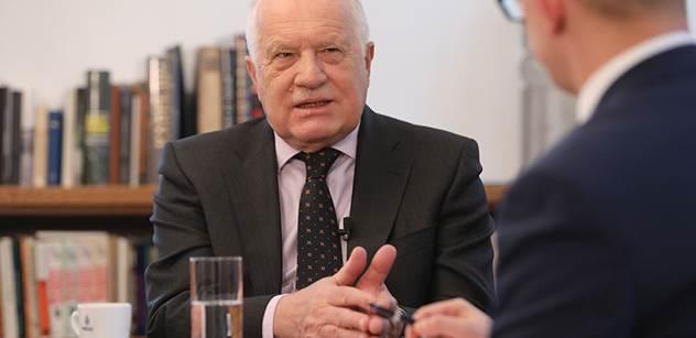 Václav Klaus st. pro PL: Babiš s námi hraje hru, ukolébal nás. Naše země je v chaosu. Špatné věci dovážíme ze západu