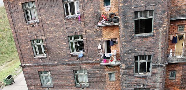 Ostravské ghetto jde do dražby, znalec odhadl cenu na 1,6 milionu