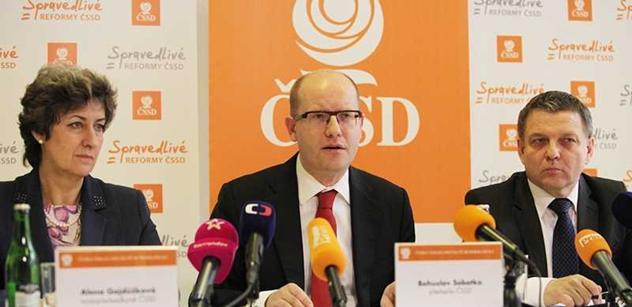 Stínoví ministři: Budeme šetřit a zalepíme chyby po pravicové vládě