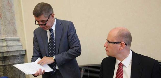 Koalice se dohodla co nejrychlejším přijetí finanční ústavy