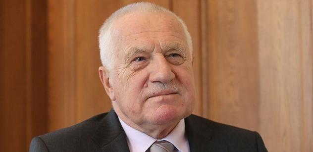 Václav Klaus vystoupí na semináři IVK k 20. výročí Česko-německé deklarace