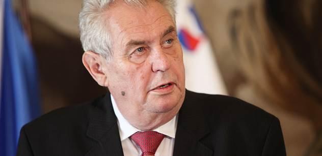 """Zeman v Pelhřimově označil země, které se po Británii mohou """"trhnout"""" z EU. A místním lidem řekl něco nepěkného o Bakalovi"""