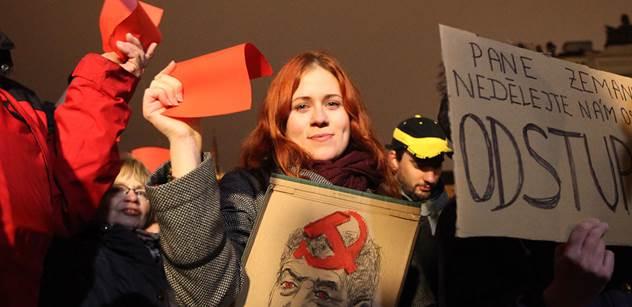 Server přináší další důkaz, kdo organizoval demonstraci proti Zemanovi. Objevil fotku krabice s červenými kartami a vyčetl z ní mnoho zajímavého