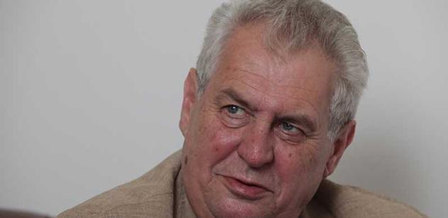 Foldyna: Zeman na Hrad. Musíme ho přemluvit k návratu do ČSSD