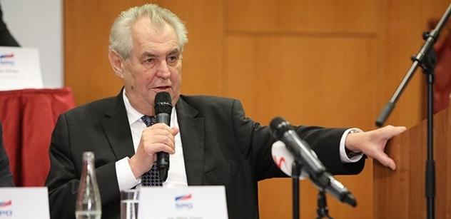 Šikanózní insolvenční návrhy se omezí, Zeman podepsal novelu