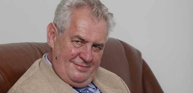 Miloš Zeman: Krize je nejen hrozbou. Krize je současně příležitost i výzva