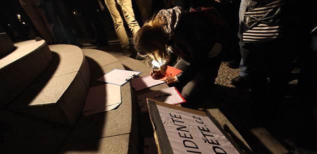 Autor stotisícové petice: Zeman provokuje a vytváří napětí. Chci sehnat miliony podpisů. Problém Česka nejsou peníze, ale morální hodnoty