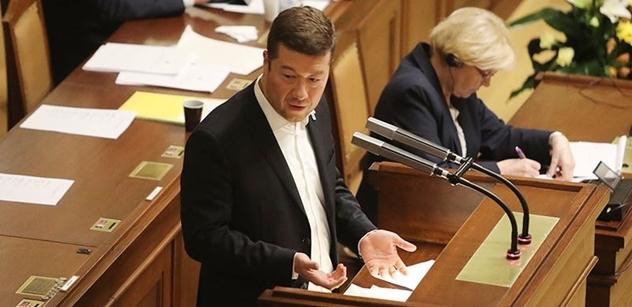 Velmi důležitý vzkaz Andreji Babišovi od Okamury. Zazněl před novináři