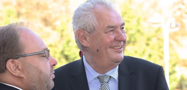 Miloš Zeman dnes navštíví Třinec a Jablunkov
