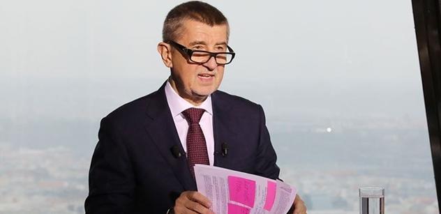 Andrej Babiš odpovídá premiérovi na dotaz ohledně daní: Sobotka má před sjezdem, tak do mě kope