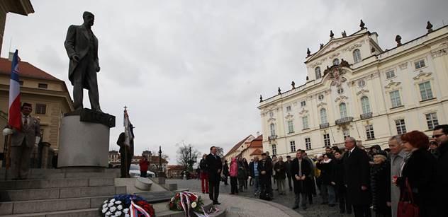 Rektoři vzdali hold Masarykovi, oslav na Hradě se nezúčastní